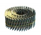 "2-1/4"" x .099 Screw Shank Wire Coil Nails"