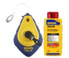 Irwin 64494 100' Blue Speed Line Reel and Chalk Combo