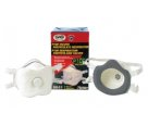 SAS Safety 8641 P100 Particulate Respirator with Valve (2 Pack )