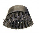 "Flexovit C1480 2-3/4"" Knotted Cup Wire Brush"