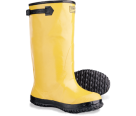 SLB10 Yellow Rubber Work Boot Size 10