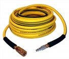 "RolAir 14100NOODLE 1/4"" x 100FT Air Hose w/ Fittings"